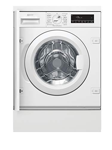 NEFF W6441X0 Einbau-Waschmaschine Frontlader / A+++ / 137 kWh/Jahr / 1400 UpM / 8 kg / weiß / Anti-Flecken-Programme [Energieklasse A+++]
