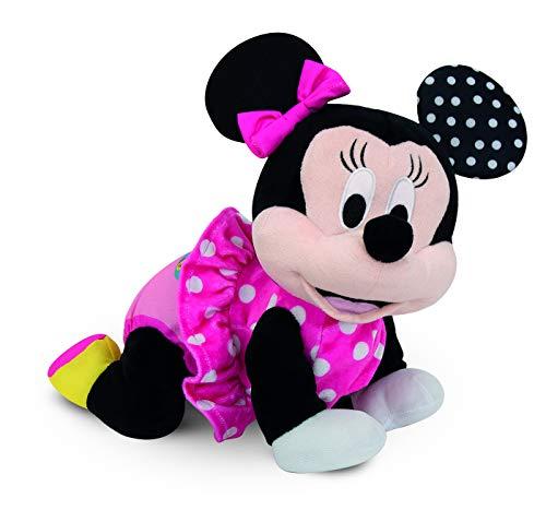 Clementoni-55269 - Baby Minnie Gateos - gateador bebé de Disney a partir de 6 meses