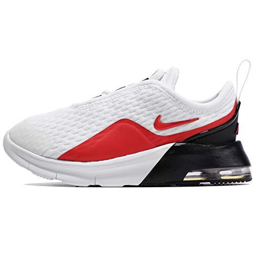 Nike Air Max Motion 2 (TDE), Scarpe da Corsa Unisex-Bambini, White University Red Black, 26 EU
