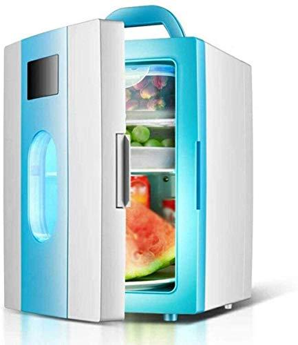 FGDSA Refrigerador De Coche/Mini Nevera De 10L / Refrigerador De Dormitorio De Estudiantes/Refrigerador De Coche De 12V / Refrigerador Doméstico De 220V