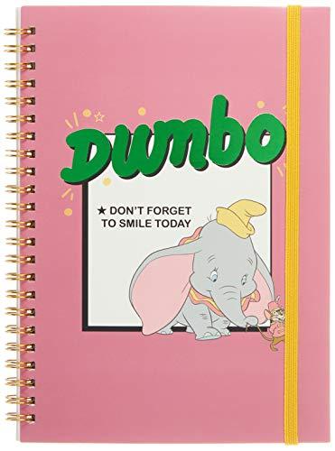 CERDÁ LIFE'S LITTLE MOMENTS Libretas Escolares de Dumbo Color Rosa-Licencia Oficial Disney Studios Unisex niños, Pink, Infantil