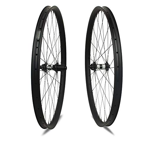 Yuanan DT 350 MTB Laufrad 29er 40 mm Breite Carbon Laufradsatz Tubeless Ready for All Mountain Enduro Downhill