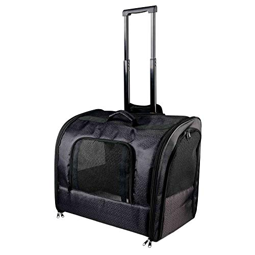 Trixie 2881 Trolley Elegance, 45 × 41 × 31 cm, schwarz