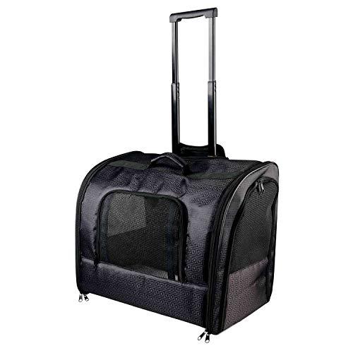 TRIXIE Trolley Elegance, Nylon, 45 × 41 × 31 cm, Negro, Perro