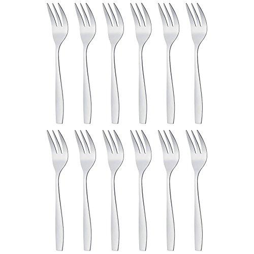 Gräwe Serie'Moni' Confezione da 12 forchette da dolce