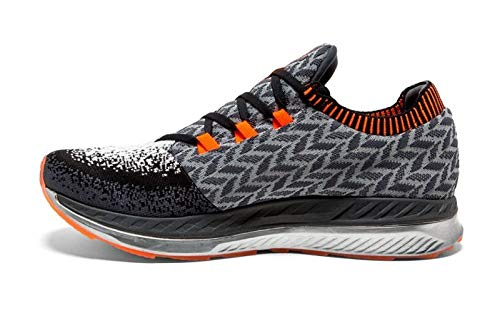 Brooks Bedlam, Scarpe da Running Uomo, Multicolore (Black/Grey/Orange 005), 44 EU