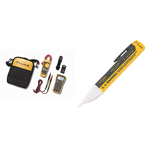 Fluke 117/323 KIT Multimeter and Clamp Meter Combo Kit + 1AC-A1-II VoltAlert Non-Contact Voltage Tester