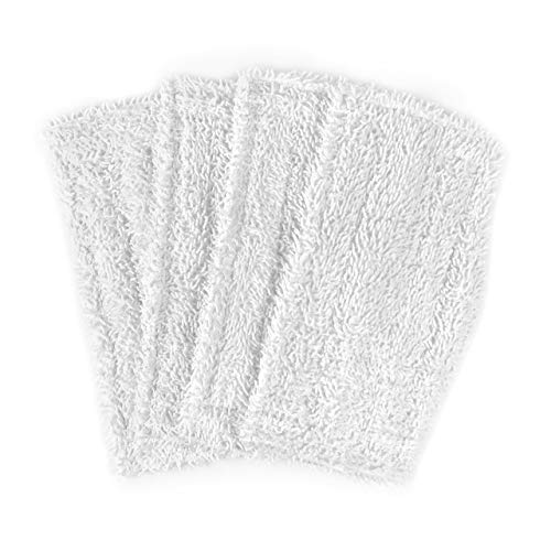4 Pack Washable Cleaning Mop Pads Replacements for Shark Steam & Spray Mop SK410, SK460, SK115, SK140, SK141, SK435CO, S3101, S3102, S3250, S3251