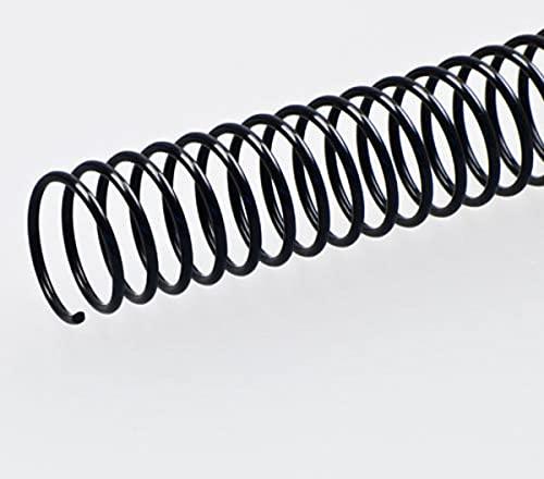 Fellowes 53150–Pack di 50spirali metalliche, 30mm, colore: nero