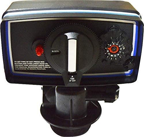 INTBUYING Time Clock Control Valve for Water Filter Softener Resin Tank 9''-11'' Diameter
