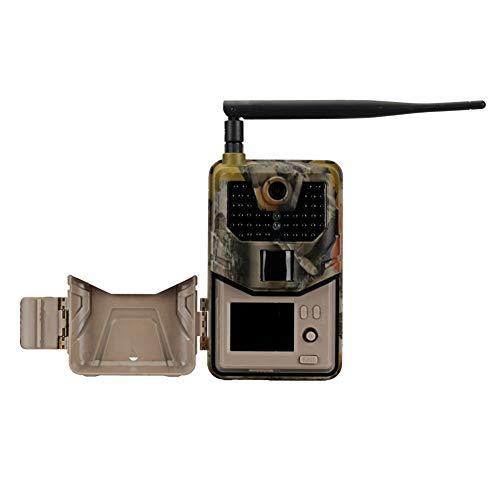 KU Syang CáMara de Rastro de Vida Silvestre 1080P Trampas FotográFicas VisióN Nocturna 2G SMS MMS SMTP Correo ElectróNico Celulares CáMaras de Caza Vigilancia HC900M