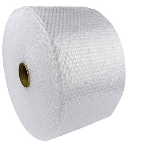 KADAX Luftpolsterfolie, Rolle, Blisterfolie für Umzug, Betrieb, Möbel, Noppenfolie zum verpacken, Polstermaterial, transparente Verpackungsfolie, Knallfolie, Verpackungsmaterial (100m x 40cm)