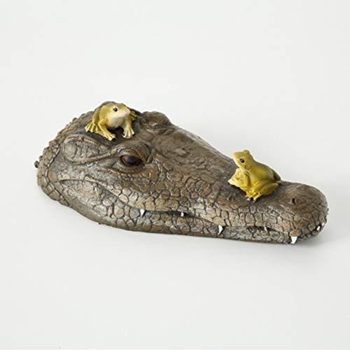 Tamia-Living Schwimmtier Krokodil Ally L32cm Kunststoff Braum