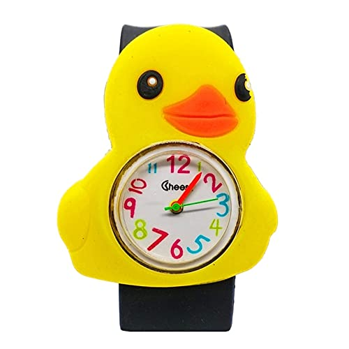 kid Reloj para niños Juguetes de tiempo de aprendizaje para bebés Relojes de bofetada para niños Reloj de cuarzo para niños Regalo de fiesta para niñas Reloj de estudio para niños Reloj para niños
