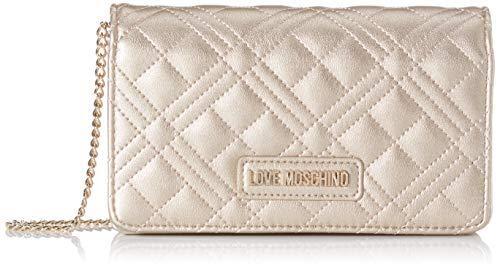 Love Moschino Jc4093pp1a, Borsa a Mano Donna, Oro (Oro), 4x11x18 cm (W x H x L)