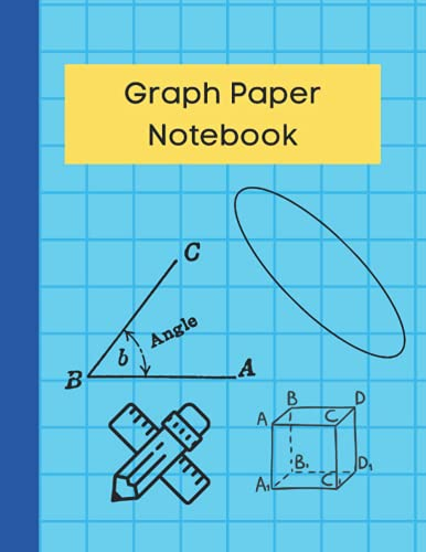Graph Paper Notebook: Graph Paper Composition Notebook 120 pages 8.5X11 Inches