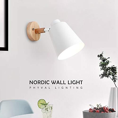 スタイリッシュな中にもナチュラルなあたたかさを感じる、北欧デザインのブラケットライト。お部屋をさりげなくもおしゃれな空間にしたいときのアクセントに◎