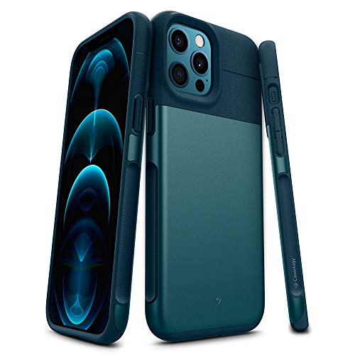Caseology Legion Compatible with iPhone 12 Pro Max Case (2020) - Stone Green