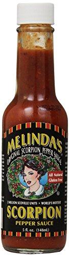 Melinda's Trinidad Scorpion Pepper Hot Sauce, 5 Ounce