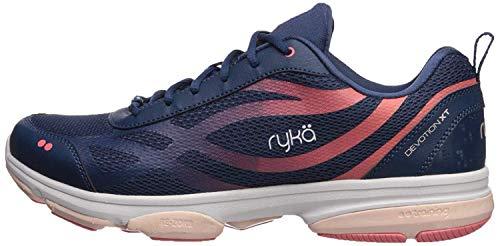 Ryka Women's Devotion XT Cross Trainer, Navy, 8.5 M US