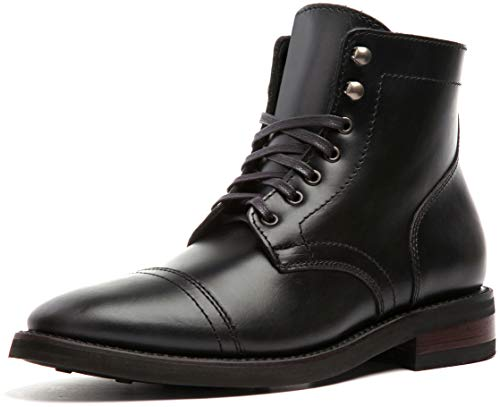 Thursday Boot Company Captain Men's 6″ Lace-up Boot, Black, 11.5 M US