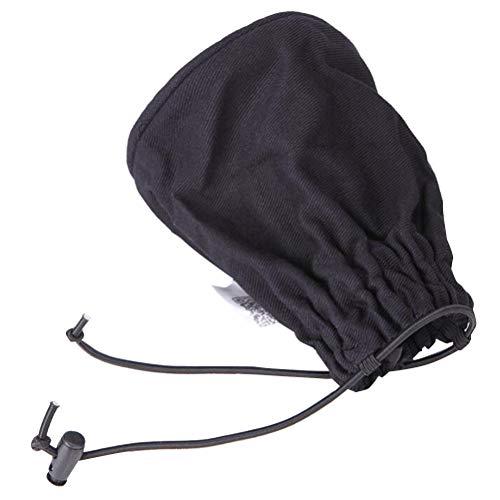 SUPVOX Secador de cabello Difusor de secado Capucha cubierta Hot calcetín difusor de cabello plegable peluquería para viajes a casa Hotel