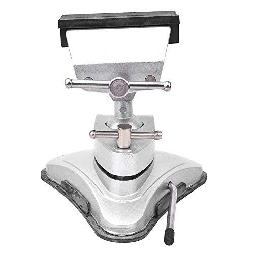 Tornillo de banco, mini prensa de taladro Tornillo de banco Tornillo de banco Tipo de succión Aleación de aluminio Tornillo de banco de vacío Abrazadera universal de mesa de tornillo de banco