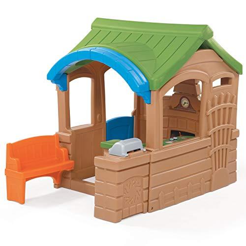 Step2 Gather & Grille Spielhaus   Kunststoff Spielhaus für Kinder mit Küche und Zubehör