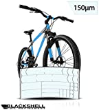 Blackshell – Protector de pantalla para bicicleta BMX, MTB, bicicleta de carreras o bicicleta eléctrica – 24 piezas, transparente
