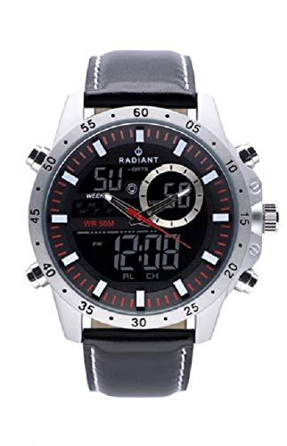 Reloj Radiant RA485702 Dennis Negro/Rojo New 2019