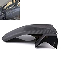 Imitation carbon fiber grain which is economical and durable. When you are driving on a slippery road, it effectively blocks the splashing water. Please make sure your bike would fit this mounting kit, We would apprappreciate to answer your question....
