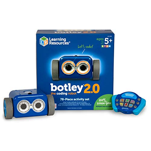 Learning Resources Botley the Coding Robot 2.0 Activity Set, Coding Robot for Kids, STEM Toy, Early...