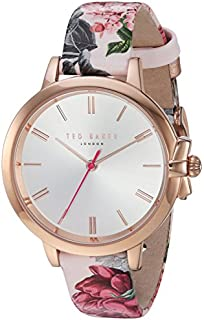 Ted Baker Women's  RUTH  Stainless Steel and Genuine Leather Analog Display Quartz Casual Watch( Model: TE50267001/02)