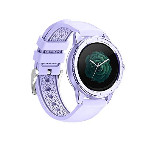 Pantalla a Color, aleación de Aluminio, Anillo, frecuencia cardíaca, presión Arterial-púrpura