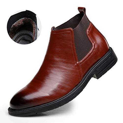 Gyming Chelsea winterlaarzen voor heren, hoge hulp, zakelijke schoenen, van leer, warm buiten, Martin laarzen, werk, wandelen, stad