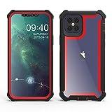 HHF Téléphone portable Accessoires Pour iPhone 12 Pro Max, antichocs Couverture en silicone...