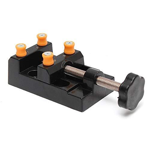 Universal Mini Bohrmaschine Schraubstock Clamp Tisch Bank Schraubstock für Schmuck Nussbaum Kern Uhr Reparatur Clip Auf DIY Skulptur Handwerk Carving Bett Werkzeug