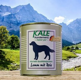 Kale Lamm mit Reis 800g (6 x 800g)