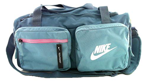 Nike Unisex's Future Pro Duff Bag, Thunderstorm/Cerulean/White, One Size