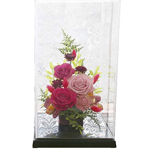サウンドアレンジ 神楽箱 (桃和花) プリザーブドフラワー プレゼント 白寿のお祝い 百寿のお祝い 花 ギフト ケース