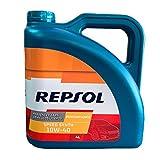 Repsol Olio Motore 4 Litri 10W40 Speed Synth Performance Semisintetico API SL CF Benzina e Diesel