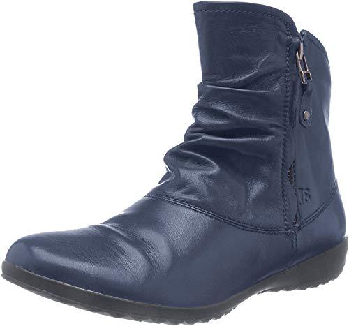 Josef Seibel Damen Stiefeletten Naly 24, Frauen Klassische Stiefelette, Women's Women Woman Freizeit Stiefel Boot Bootie,Blau(Ocean),42 EU / 8 UK
