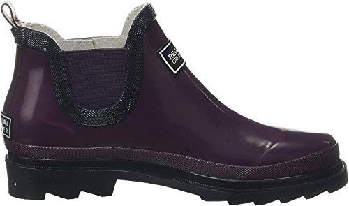 Regatta Damen Lady Harper Welly Rain Boot, Prune/Iron, 40 EU
