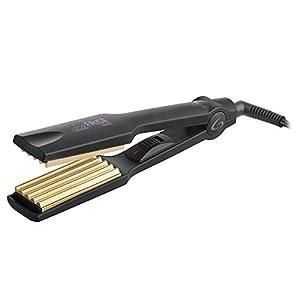 GAMA ITALY PROFESSIONAL Fable Frisè - Plancha para el pelo, temperatura siempre ideal 210° C, placas en cerámica