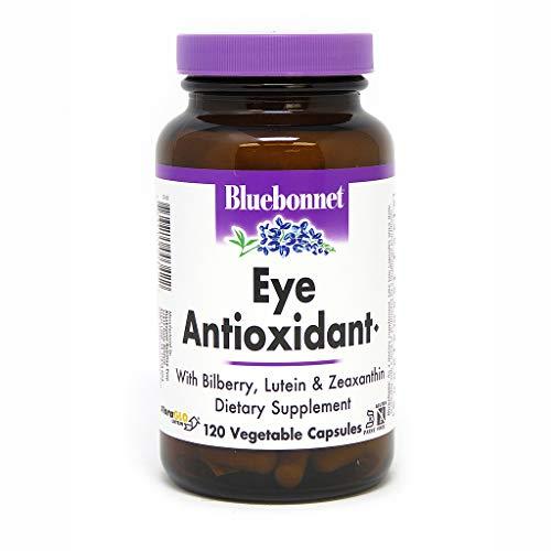BlueBonnet Eye Antioxidant with Zeaxanthin Formula Vegetarian Capsules 120 vcaps