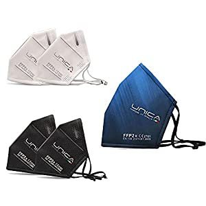 UNICA5 Mascherine Lavabili Mascherine Riutilizzabili FFP2 Lavabile CertificateMascherine FFP2 Made in Italy CE Lavabili 5 Strati Nano TechMascherine TessutoFFP2 ErgonomicheEcosostenibile