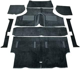 Classic Austin Mini Saloon Complete Replacement Interior Carpet Kit -Black