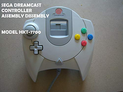 Sega Dreamcast Controller Disassembly and Assembly : Learn how to  Disassembly and Assemble a Sega Dreamcast Controller (English Edition)
