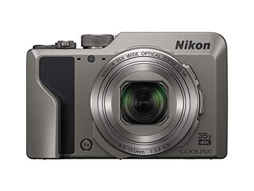 """Nikon COOLPIX A1000 Cámara compacta 16 MP CMOS 4608 x 3456 Pixeles 1/2.3"""" Negro, Plata - Cámara Digital (16 MP, 4608 x 3456 Pixeles, CMOS, 35x, 4K Ultra HD, Negro, Plata)"""