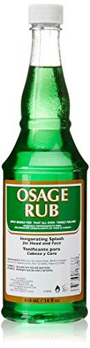 Pomade Shop Osage Rub Hair & Face Tonic - 414 ml